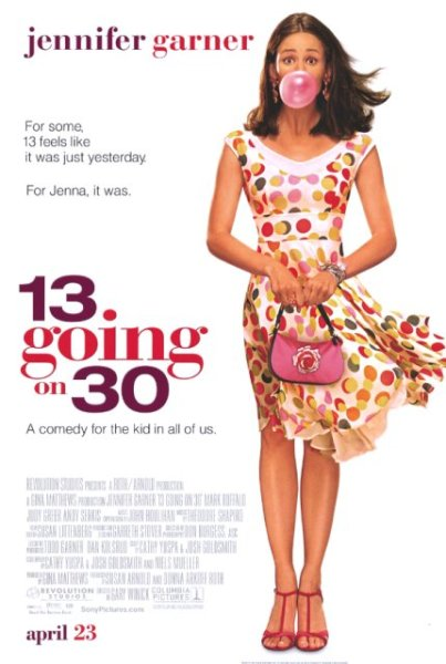 13 going on 30-full movie 12 parts Poster