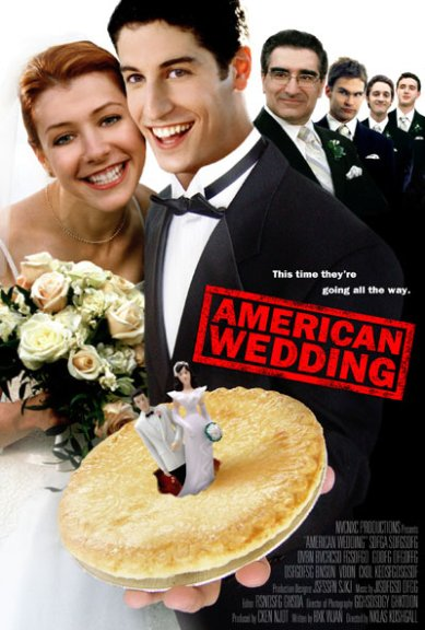 American Wedding Poster