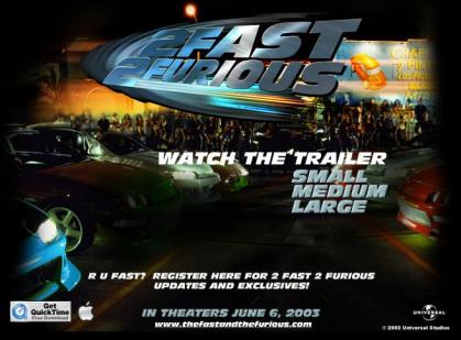 2 Fast 2 Furious Second Trailer