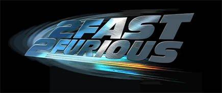 '2 Fast 2 Furious' Logo