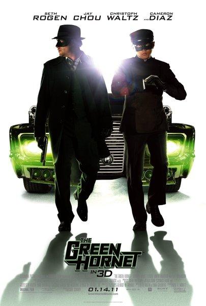 The Green Hornet Poster