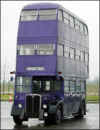 TRIPLE DECKER BUS