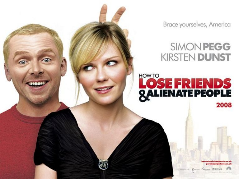 How to Lose Friends and Alienate People Poster