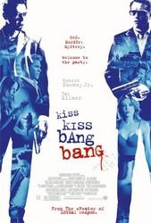 Kiss, Kiss, Bang, Bang Poster