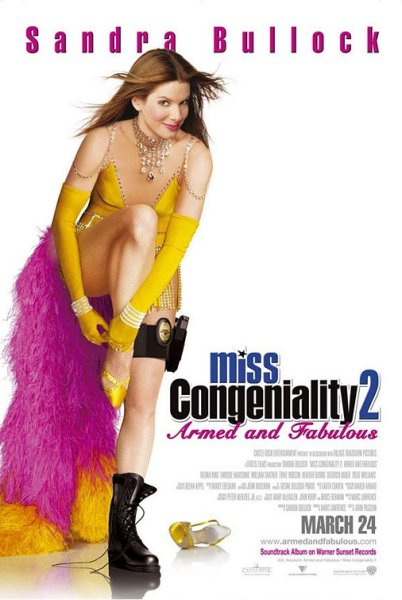 Miss Congeniality 2 Poster
