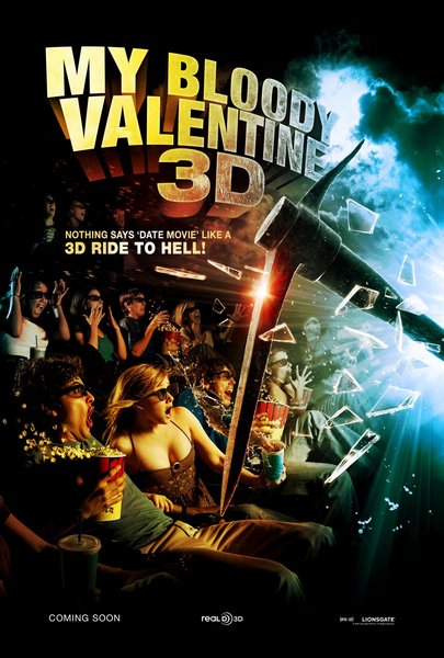 My Bloody Valentine 3-D Poster
