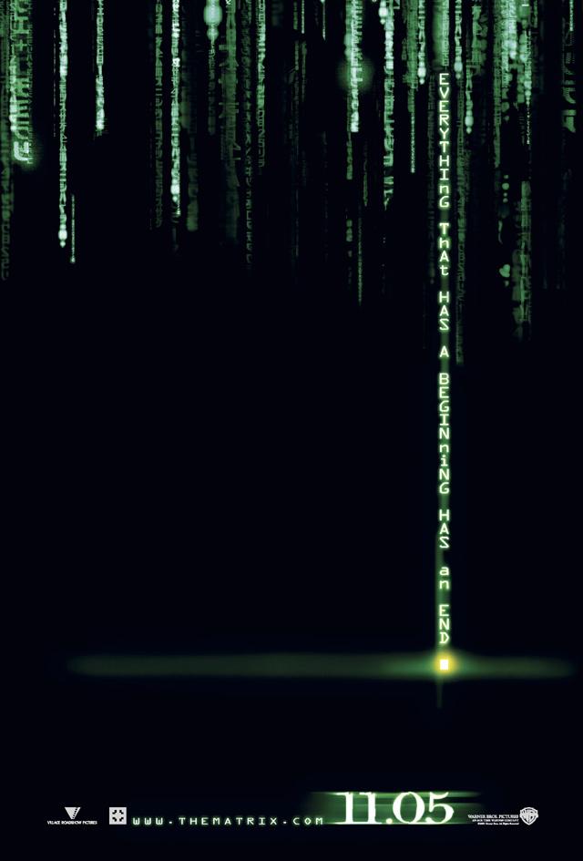 Matrix Revolutions Teaser Poster