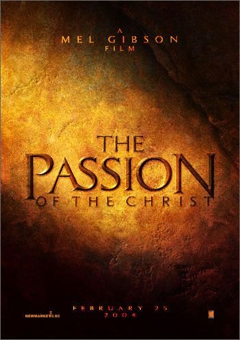 Passion of Christ Teaser Poster