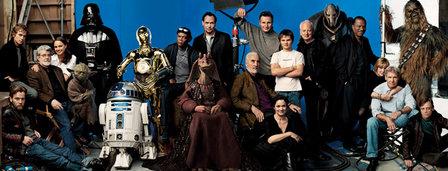 Star Wars Cast Photo