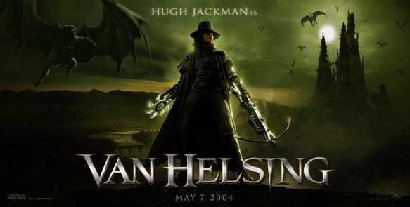 Van Helsing Banner Poster