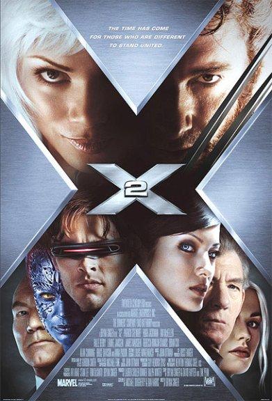 X-Men 2 Theatrical Poster